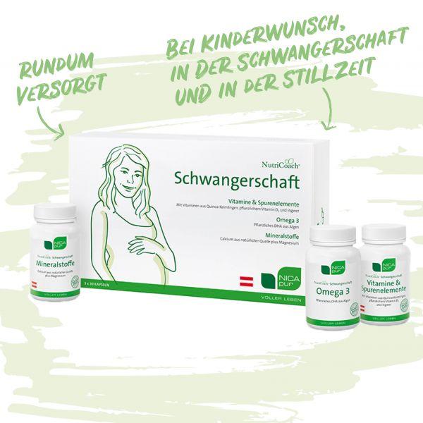 Schwangerschaft - Kinderwunsch - Stillzeit Vitamine