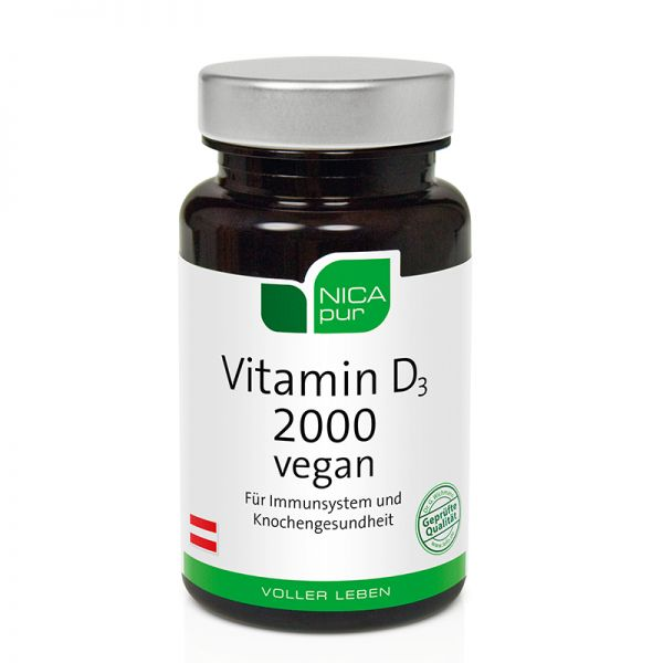 Vitamin D3 2000 vegan