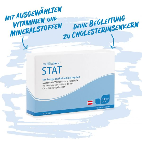 mediBalance STAT - bei Einnahme von Cholesterinsenkern