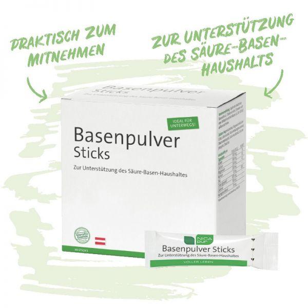 Basenpulver -Säure Basen