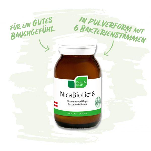 NicaBiotic 6 für ein gutes Bauchgefühl
