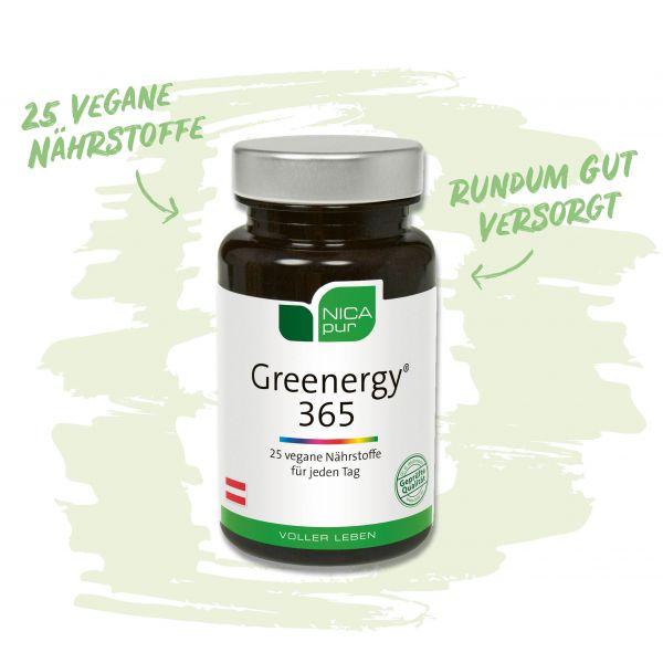 Vegane Nährstoffe - Greenergy 365