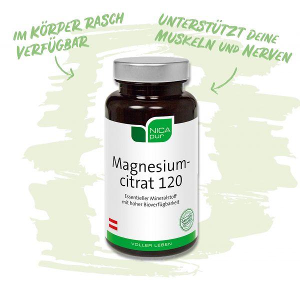 Magnesiumcitrat für Muskeln und Nerven