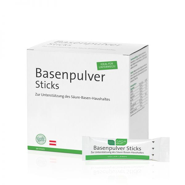 Basenpulver Sticks