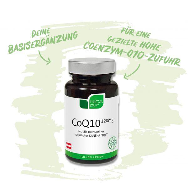CoQ10 120 mg - Coenzym Q10